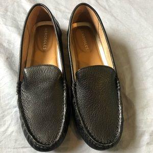 Aerosoles Bleeker Women's Black Leather Loafers